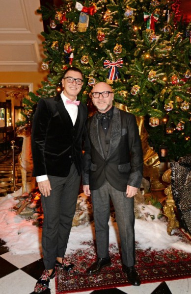 Dolce And Gabbana Christmas Tree Party