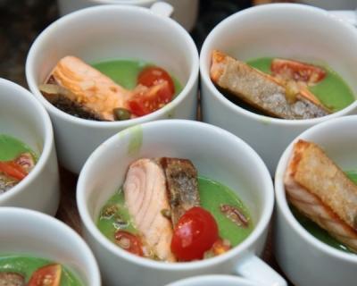 Три блюда из норвежской семги от шеф-повара Гуннара Йенсена-430x480