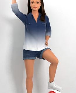 Девчонка из соседнего двора: кукла с параметрами обычного подростка-430x480