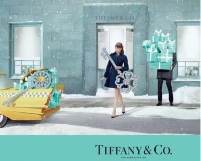 Рождественская кампания Tiffany & Co от Тима Гутта-430x480