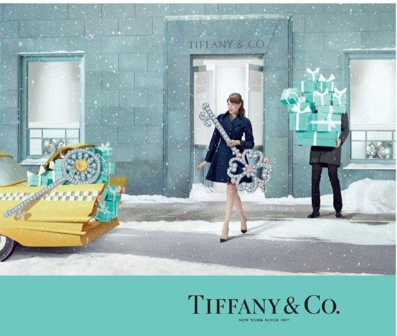 Рождественская кампания Tiffany & Co от Тима Гутта-320x180