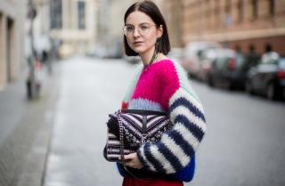 Зимний тренд — свитер oversize