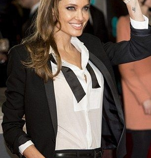 Женский tuxedo: смокинг для выхода в свет-430x480