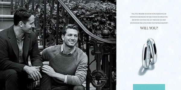 В рекламе Tiffany снялась пара гомосексуалистов-320x180