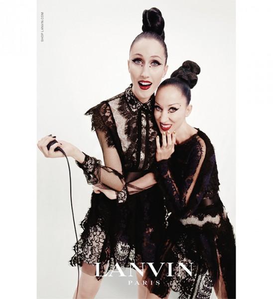 Дочки-матери: новая реклама Lanvin-320x180