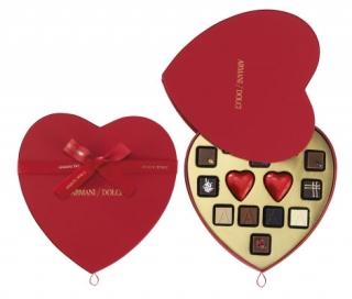 Armani выпустил шоколад в честь Дня влюбленных