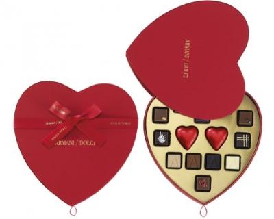 Armani выпустил шоколад в честь Дня влюбленных-430x480