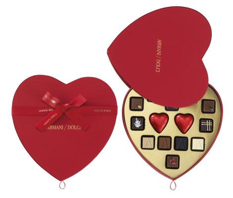 Armani выпустил шоколад в честь Дня влюбленных-320x180