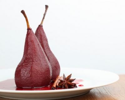 Изысканный десерт: груши в вине-430x480
