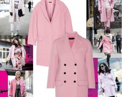 Розовое пальто: 10 вариантов-430x480