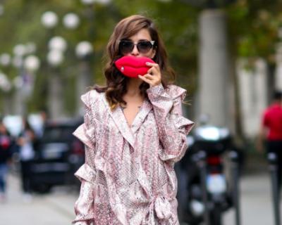 Лучшие street-style образы миланской недели мод-430x480