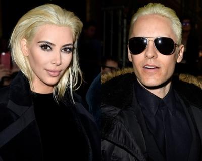 Ким vs. Джаред: кому идет платиновый блонд?-430x480