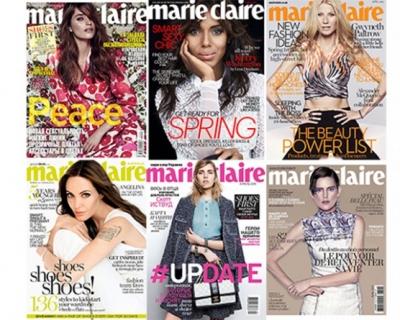 Битва обложек: апрельский номер Marie Claire-430x480