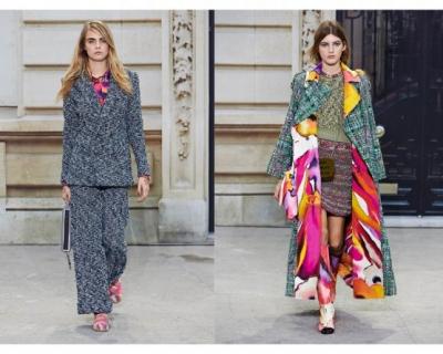Let's tweed again: твид в коллекции Chanel-430x480