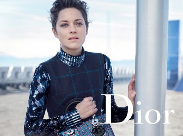 Пришельцы в городе: Марион Котийяр для Lady Dior-320x180