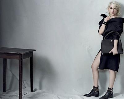 Хаос vs. порядок: Мишель Уильямс для Louis Vuitton-430x480