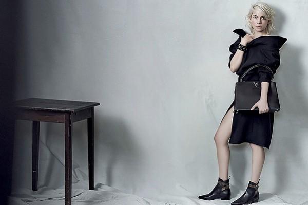 Хаос vs. порядок: Мишель Уильямс для Louis Vuitton-320x180