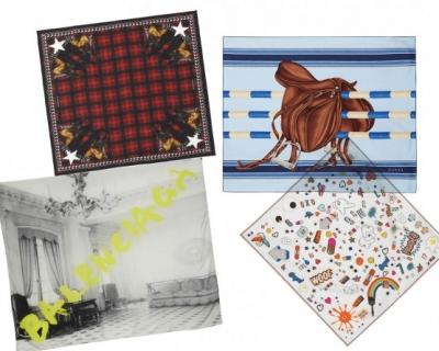 Шелковый путь: 10 лучших платков из новых коллекций-430x480