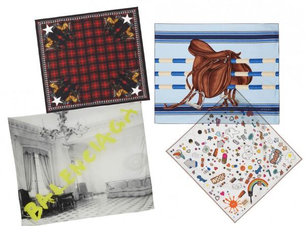 Шелковый путь: 10 лучших платков из новых коллекций