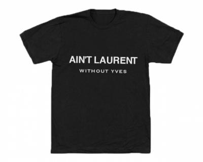 Saint Laurent судится за шутливую надпись-430x480