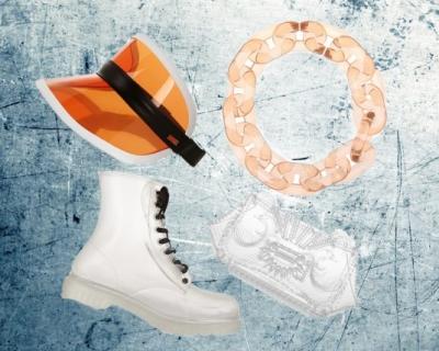 Выбор  Marie Claire: прозрачные сумки и обувь-430x480