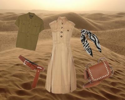 Солнце пустыни: вещи в стиле сафари-430x480