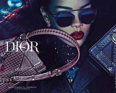 Dior Secret Garden: тизер ролика с участием Рианны-430x480