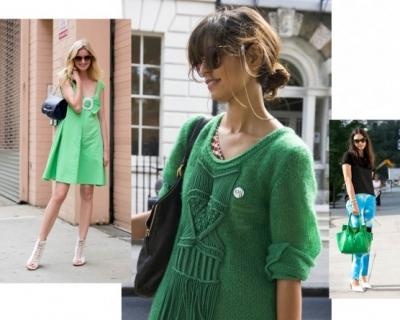 Тренд сезона: зеленые наряды-430x480