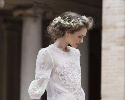 Свадебная мода: новый видеоролик Alberta Ferretti-430x480