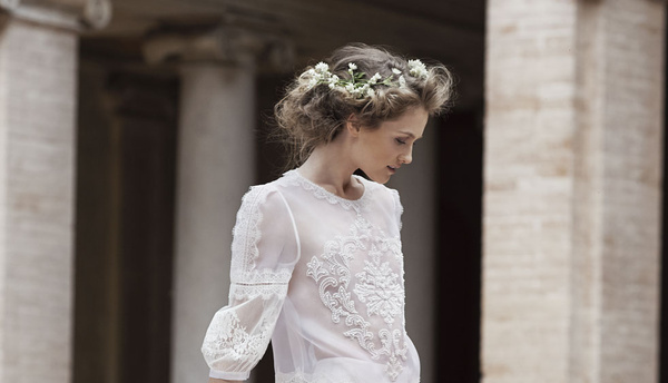 Свадебная мода: новый видеоролик Alberta Ferretti-320x180
