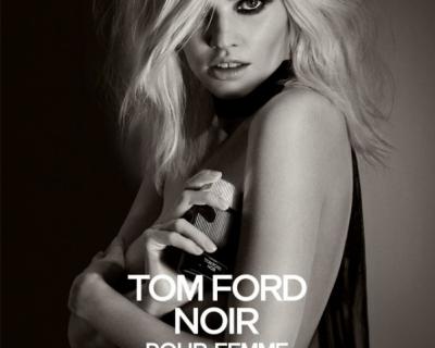 Noir Pour Femme: Лара Стоун в рекламе Tom Ford-430x480