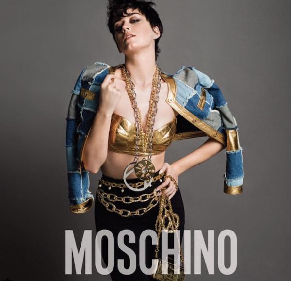 Кэти Перри для Moschino - фото