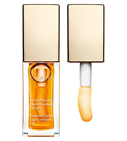 Instant Light Lip Comfort Oil, Clarins - фото
