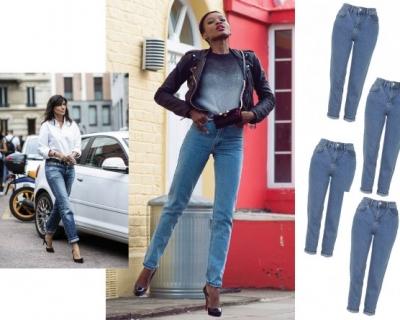 Мама одобряет: с чем носить mom jeans-430x480