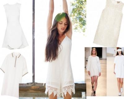 Белое пятно: как носить little white dress-430x480