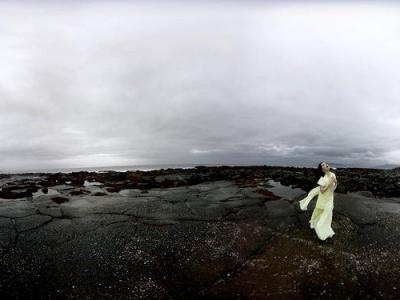 Бьорк сняла клип с обзором в 360 градусов-430x480