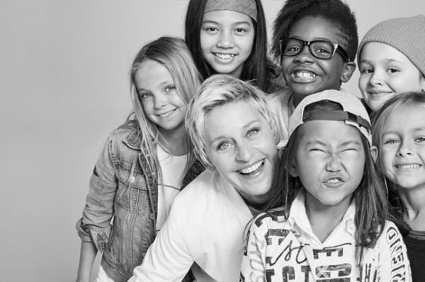 Коллекция Эллен Дедженерес для Gap