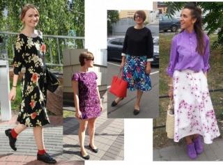 Весь цвет: летние образы редакции Marie Claire