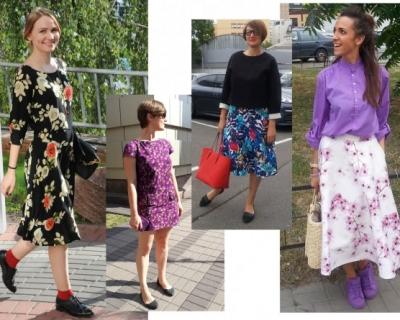 Весь цвет: летние образы редакции Marie Claire-430x480