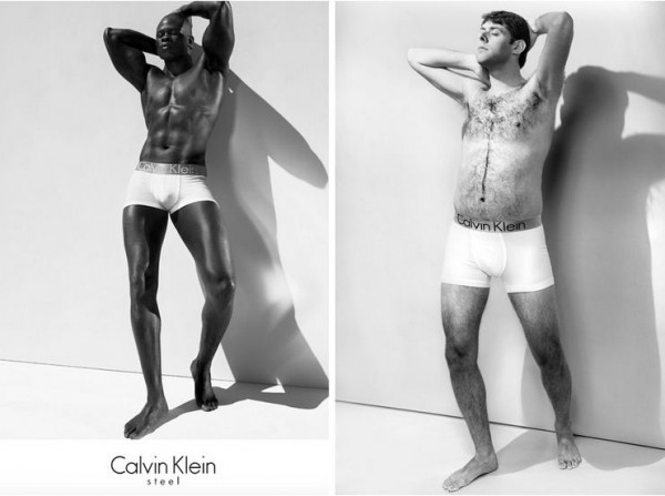 Рекламный постер Calvin Klein