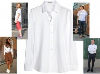 Снова в школу: наши любимые белые рубашки