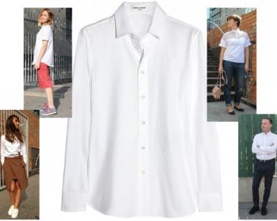 Снова в школу: наши любимые белые рубашки-430x480