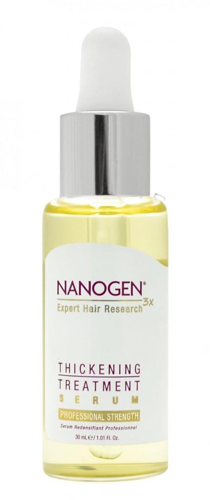 Hair Growth Factor Treatment Serum, Nanogen