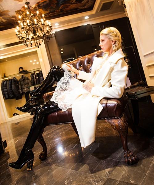 Людмила Бовкун в Dior