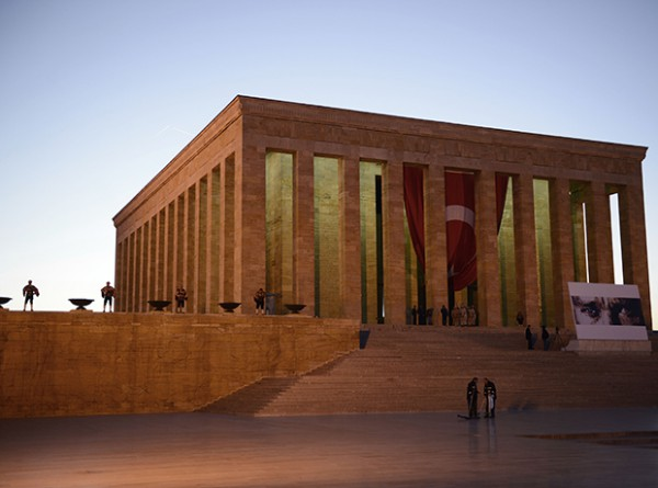 100th Anniversary of Canakkale Land Battles at Ataturk's Mausoleum