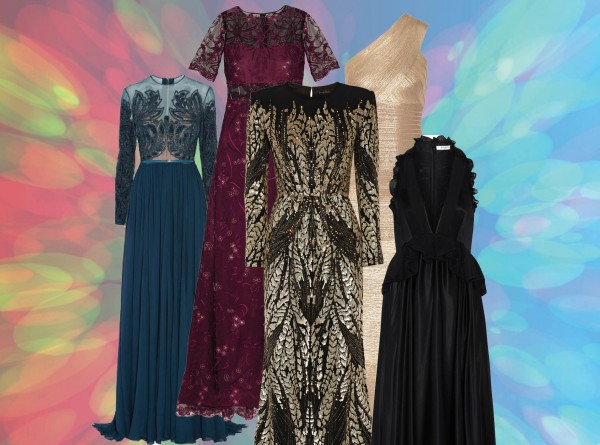 Смотрим в пол: 10 новогодних макси-платьев-320x180
