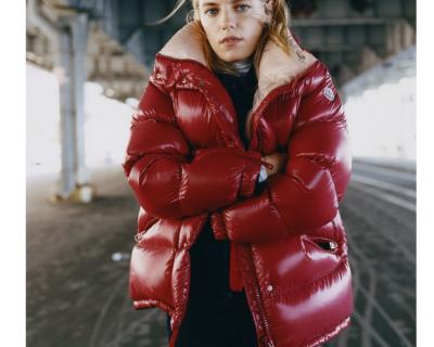 С чем зимой носить пуховик: 5 вариантов-430x480