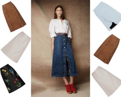 Выбор Marie Claire: юбка-трапеция-430x480