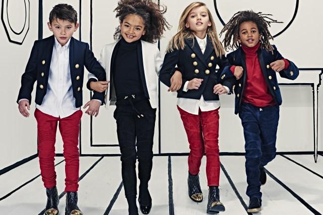 Детский сад: Balmain запускает линию одежды для самых маленьких-320x180