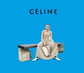 Смарт поп-арт: весенний кампейн Celine